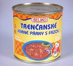 konzerva Trenčanské párky s fazolí